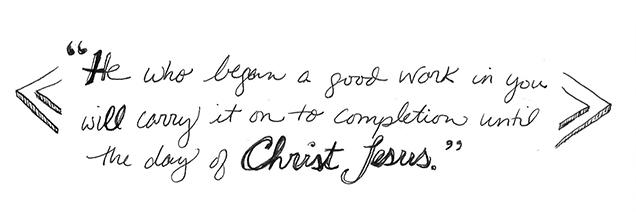 Philippians1-6 handwritten