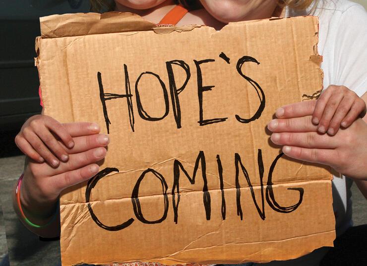 Hope's Coming_readerboard