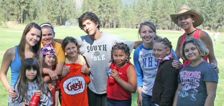 girls at camp