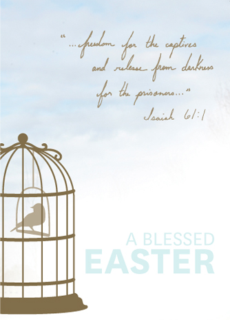 freedom for the captives Isaiah 61:1