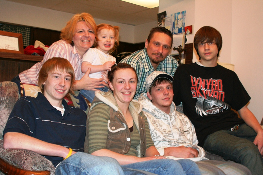 former meth addict reunites with family