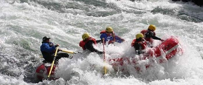 Rafting and Recovery; facing fear