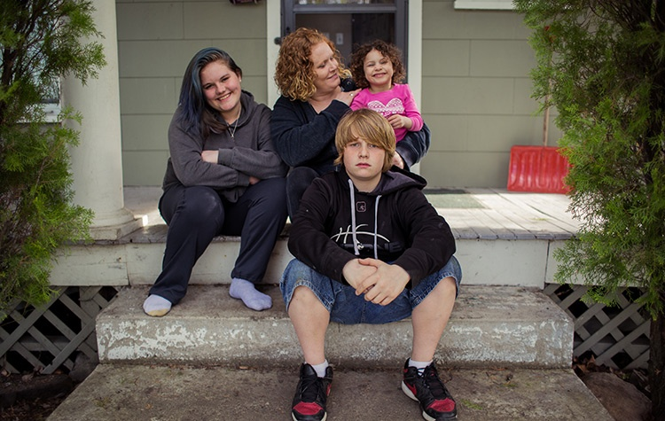 Restored family is one of the most precious results of UGM's recovery programs.