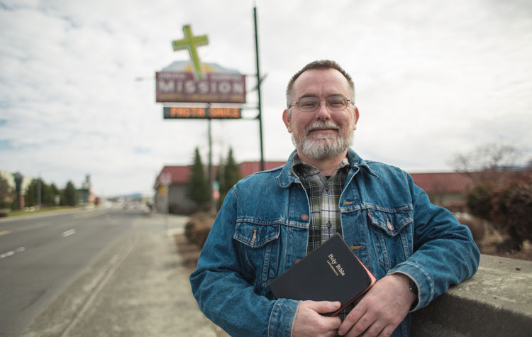 Rex Reishus found out his small church needed him as much as he needed it.