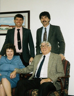 Randy, Phil, Earline and Harry Altmeyer in the mid-1980s.