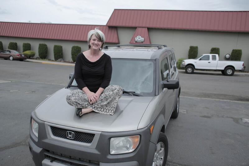 Barbara with Honda Element from UGM Motors