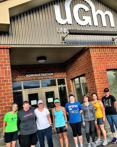 Residents and staff at the Center for Women and Children in Coeur d'Alene are training for a half-marathon as part of their recovery.