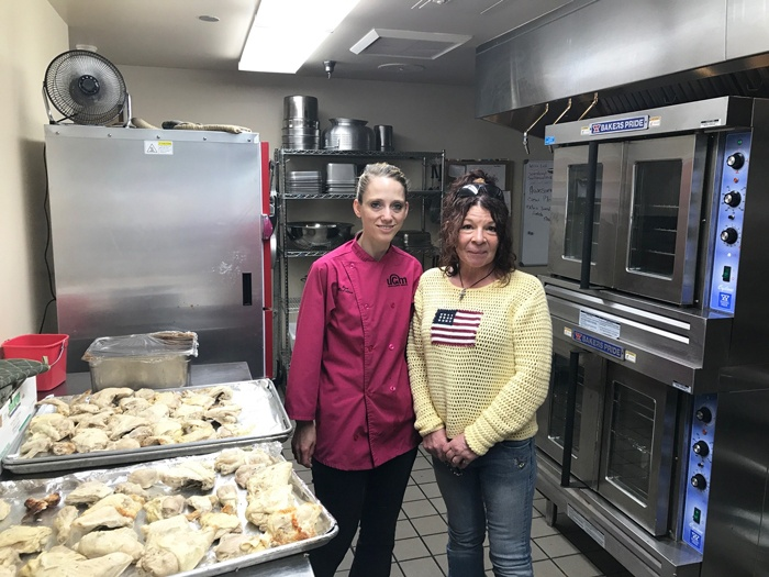 Dyann loved working in the kitchen at the Crisis Shelter with Kitchen Supervisor Jess McLellan. Dyann escaped domestic violence but needed more than just physical healing.