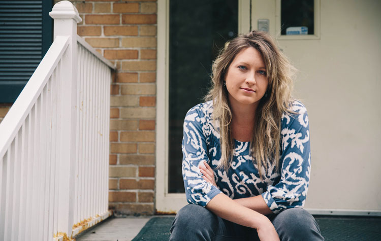 Elizabeth found out homelessness isn't about not having a job. It's about having a broken heart.