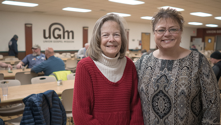 Among many things, Kris and Patti help the homeless at UGM through Encouragement Ministries.