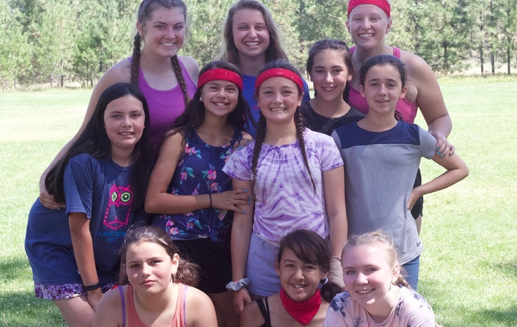 The girls in this cabin decided success was in their strengthening friendships at UGM Camp.