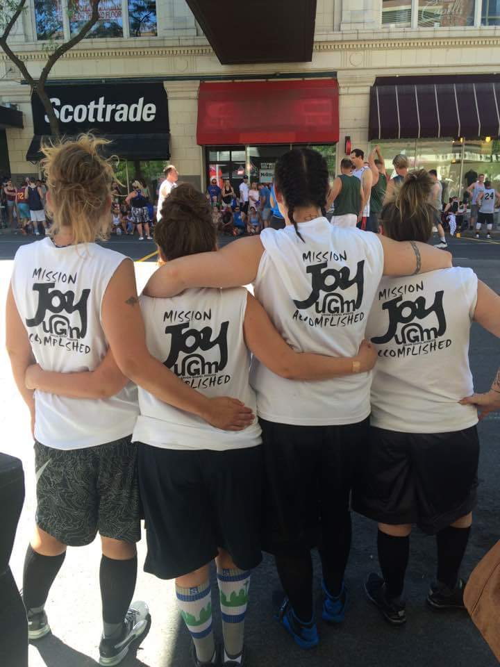 Women's Recovery at Hoopfest