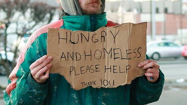 Homeless-Guy's-Sign