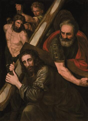 Willem Key, Christ with Cross