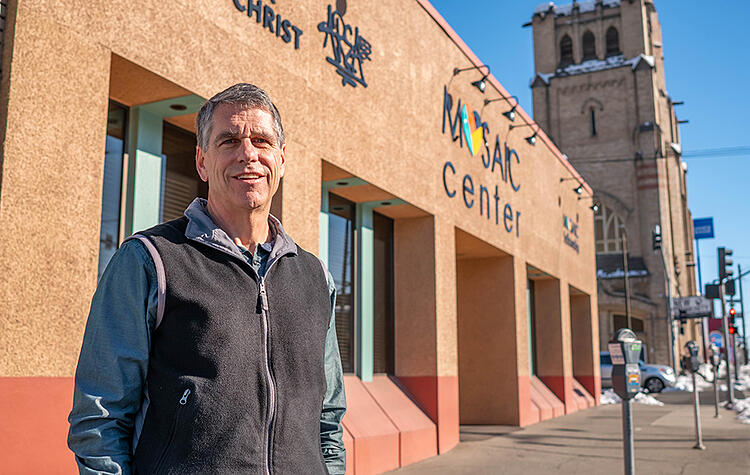 John Repsold is pastor of Mosaic, a downtown Spokane church and ministry to the homeless.