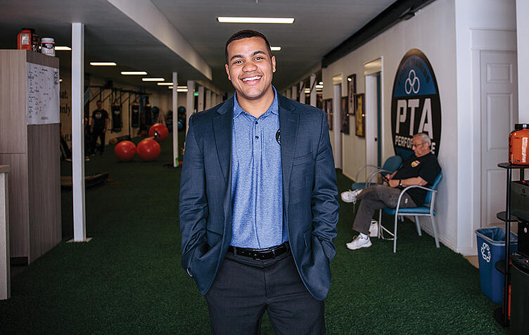 Louis Hurd III, co-owner of PTA Performance, feels like his business got rich rewards from offering a UGM Business Practicum, and he looks forward to another opportunity to do it for someone else.