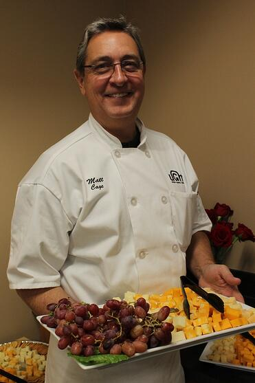 Matt Cage feeds the hungry as kitchen supervisor at the Center for Women and Children in Coeur d'Alene.