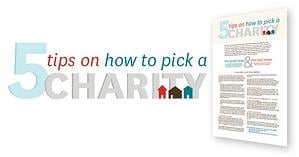 How to Pick a Charity-featured