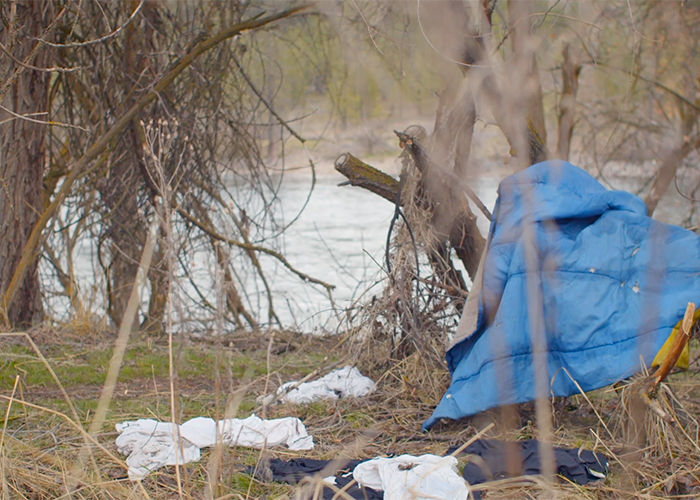 Code enforcement disposes of anything illegal campers are unwilling to take with them.