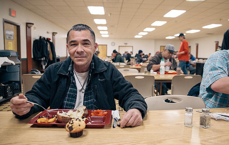 Meals can be a first step toward recovery for people experiencing homelessness.