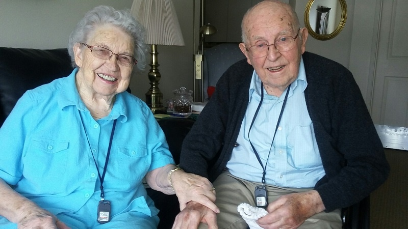 Part of Gwen's job is to reach out and share our gratitude with UGM ministry partners like Rolland and Mary Farnsworth, who have given to UGM for decades.