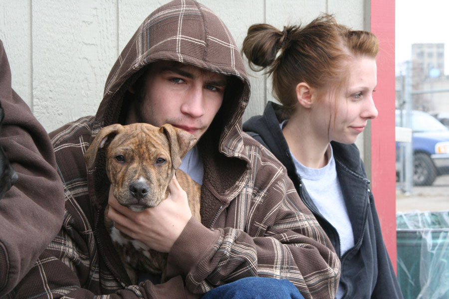 Veterinary care is one way UGM serves the homeless.