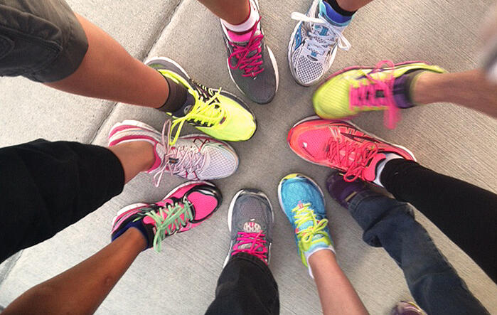 Women who are committed to training get free running shoes thanks to Fleet Feet Spokane.