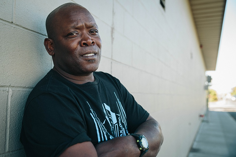 Alfred became homeless after suffering a stroke.