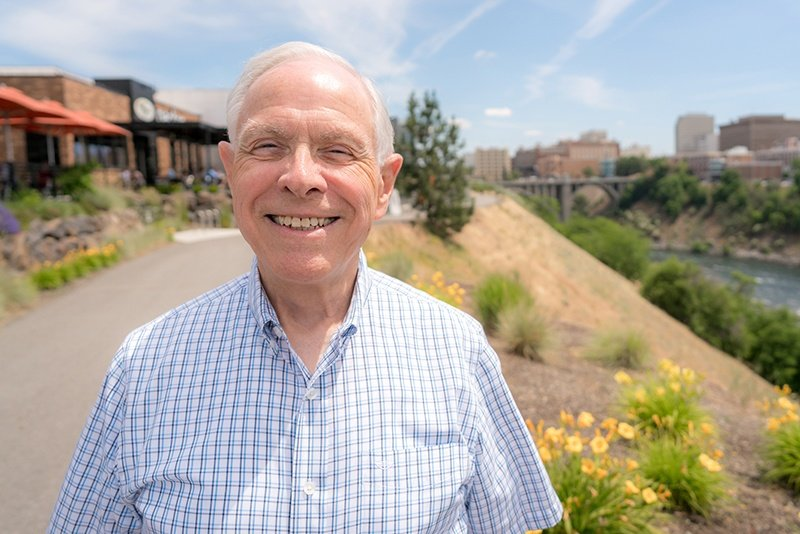 Gary Leonard, volunteer extraordinaire