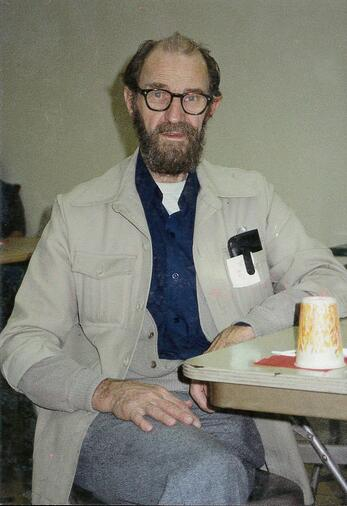 When he first came to UGM, George had the stereotypical look of a homeless man.