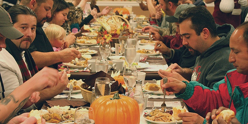 Thanksgiving dinner is one of the best events at UGM.
