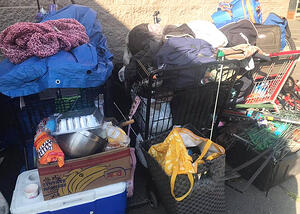 Code Enforcement estimates that 1,000 pounds of garbage per day is hauled out of homeless encampments in Spokane.
