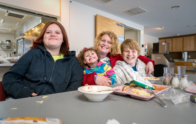 Charity and her kids got a fresh start at the Crisis Shelter. The shelter helps homeless women and families find healing and a better path.