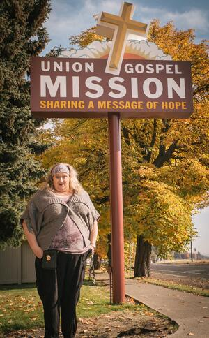 Kimmi (Halbrook) Lane arrived at the UGM Crisis Shelter nine years ago as a guest. Little did she know it was the beginning of a journey that would lead her to help homeless women here at UGM.