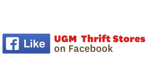 Like UGM Thrift Stores on Facebook
