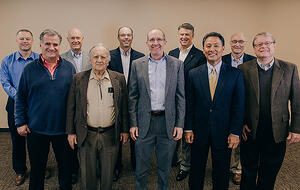 The UGM Foundation board manages legacy gifts and other invested funds for future growth.