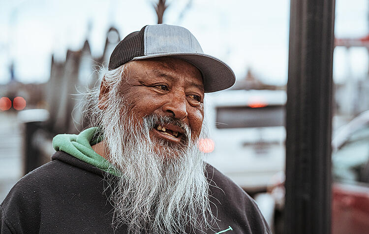 To love our homeless neighbors, we must see and know them, look into their faces, see them as God sees them.