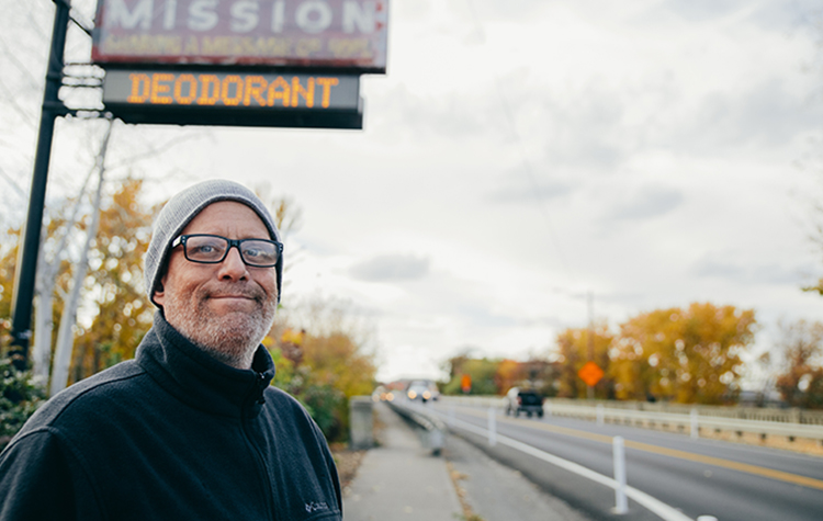 Jeff found what he really needed -- Jesus -- at UGM. Now that his heart is changing, he's on his way out of homelessness.